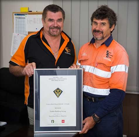 toowoomba builder award